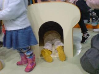 チーズの小屋に潜入