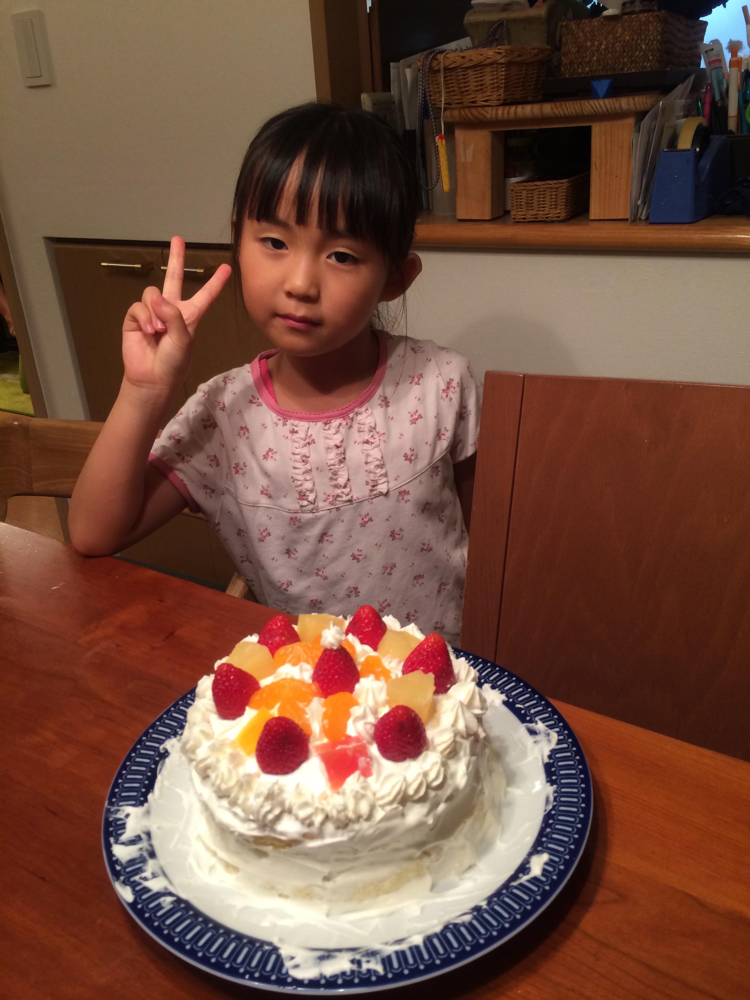 ハナとケーキ